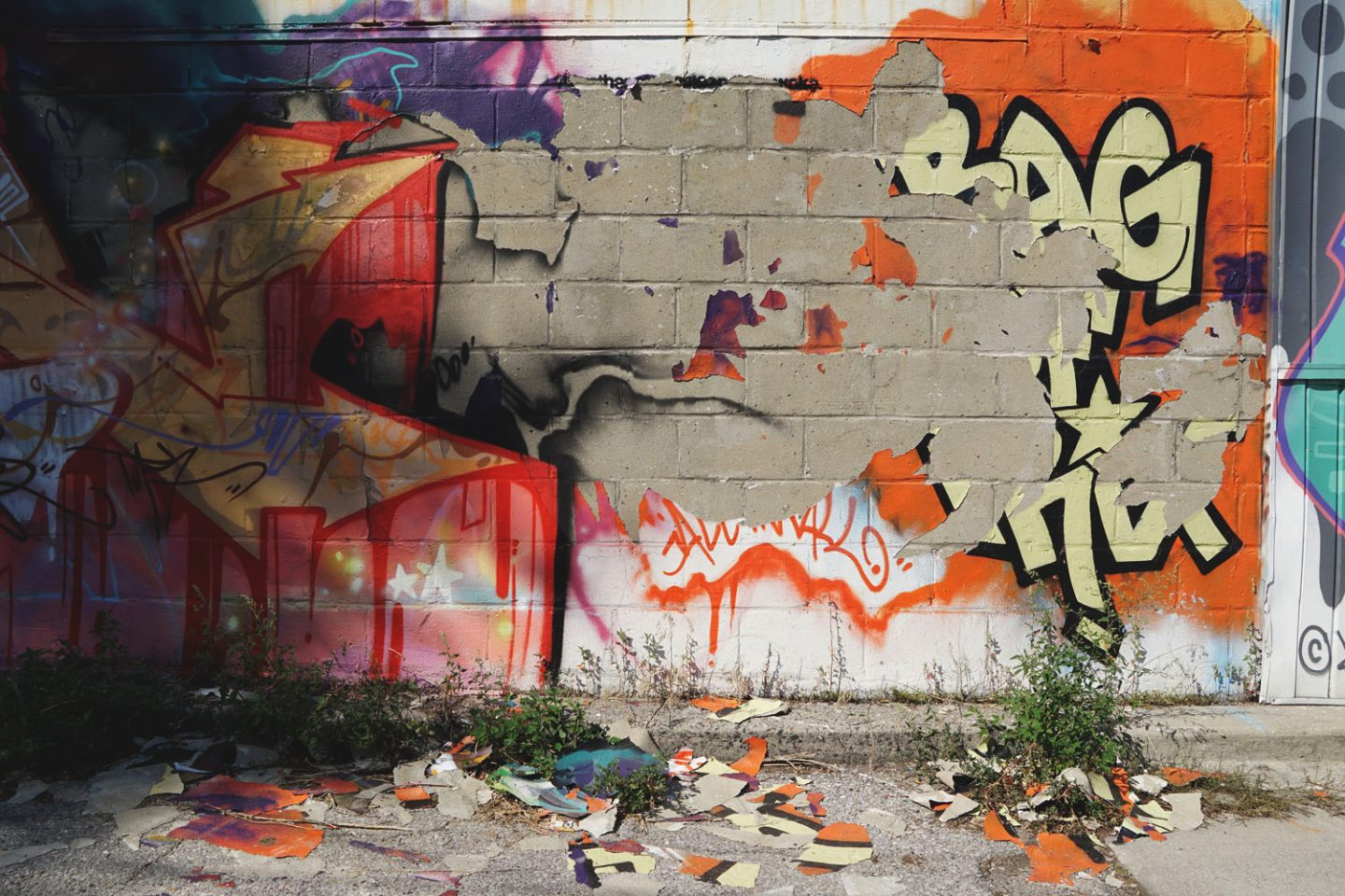 Graffiti Report: Toronto