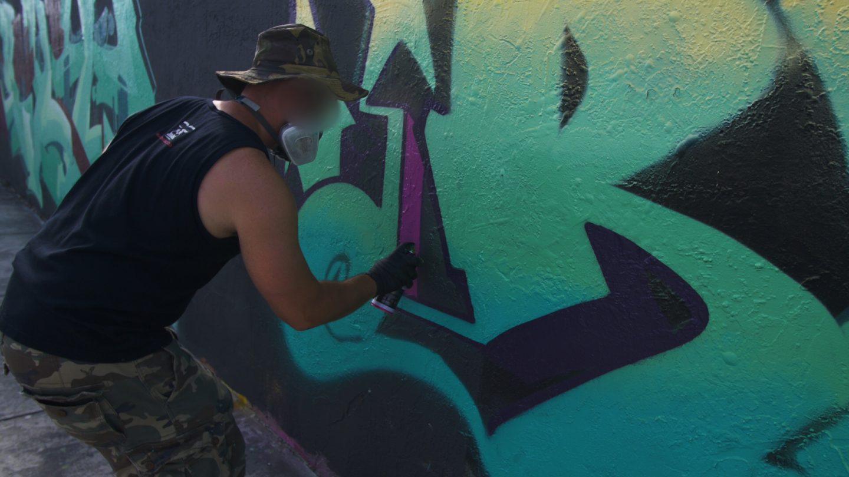 Graffiti Video: RUSTE