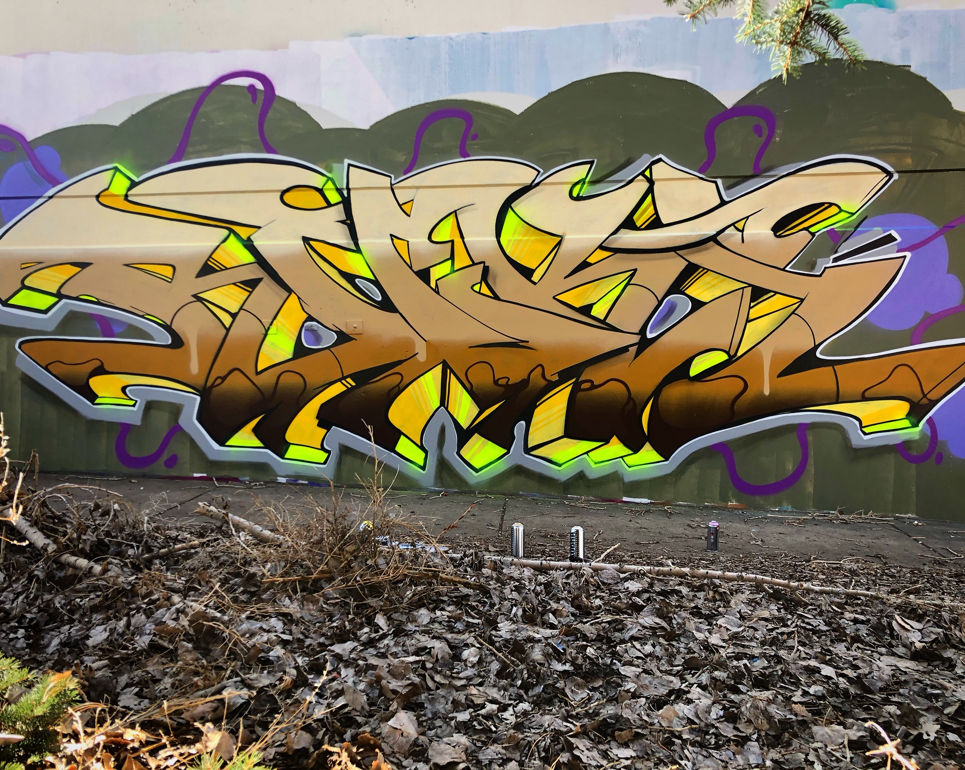 Regular practice of letters everyday is more beneficial then trying to come up with sick designs right out of your head when you are beginning graffiti