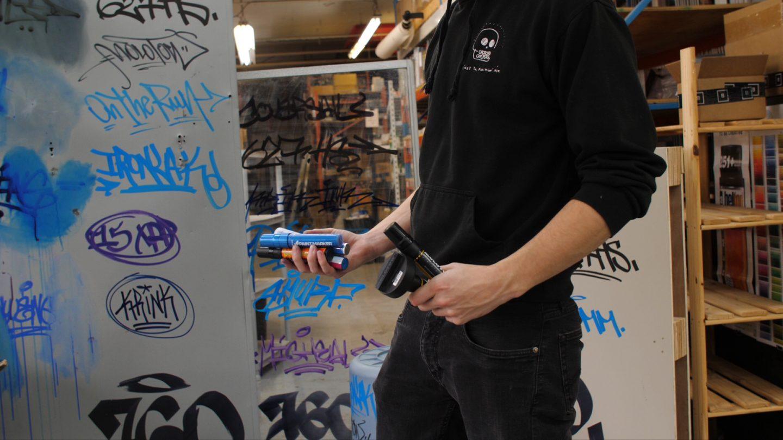 Product Review Video: Graffiti Marker Buff Test