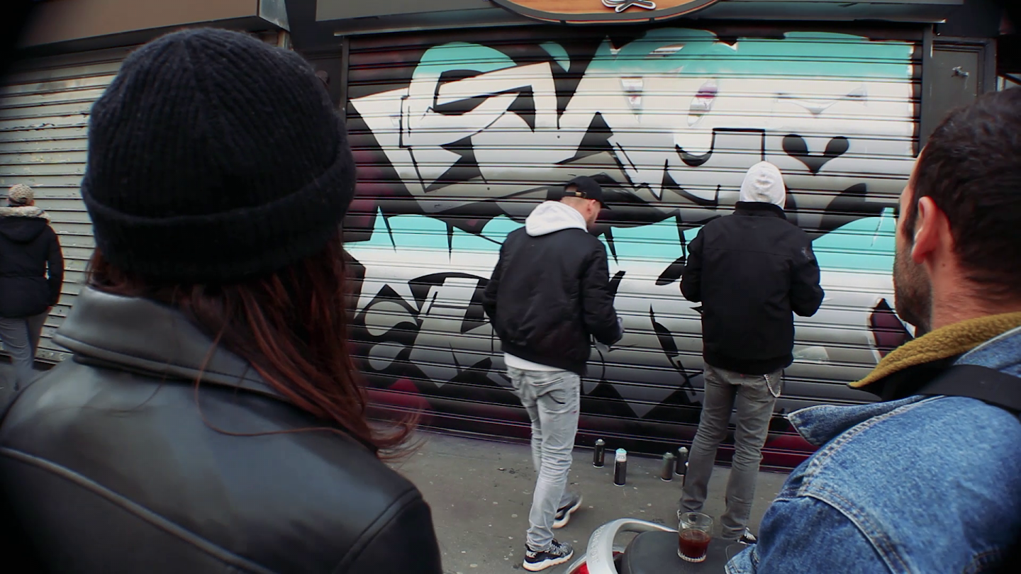 Graffiti Video: PANET & TAX ONE