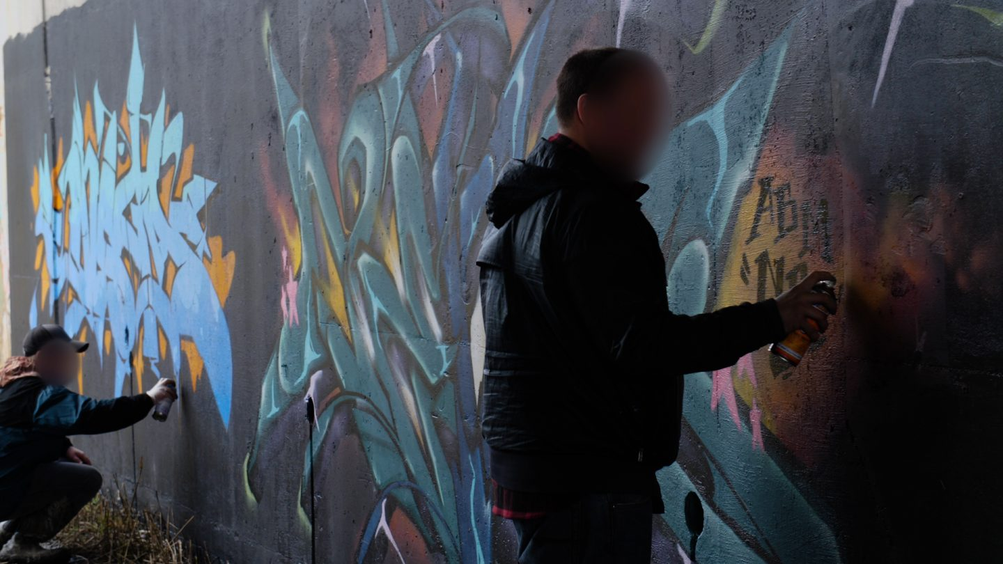 Graffiti Video: AGENS, ZENS & NESPA