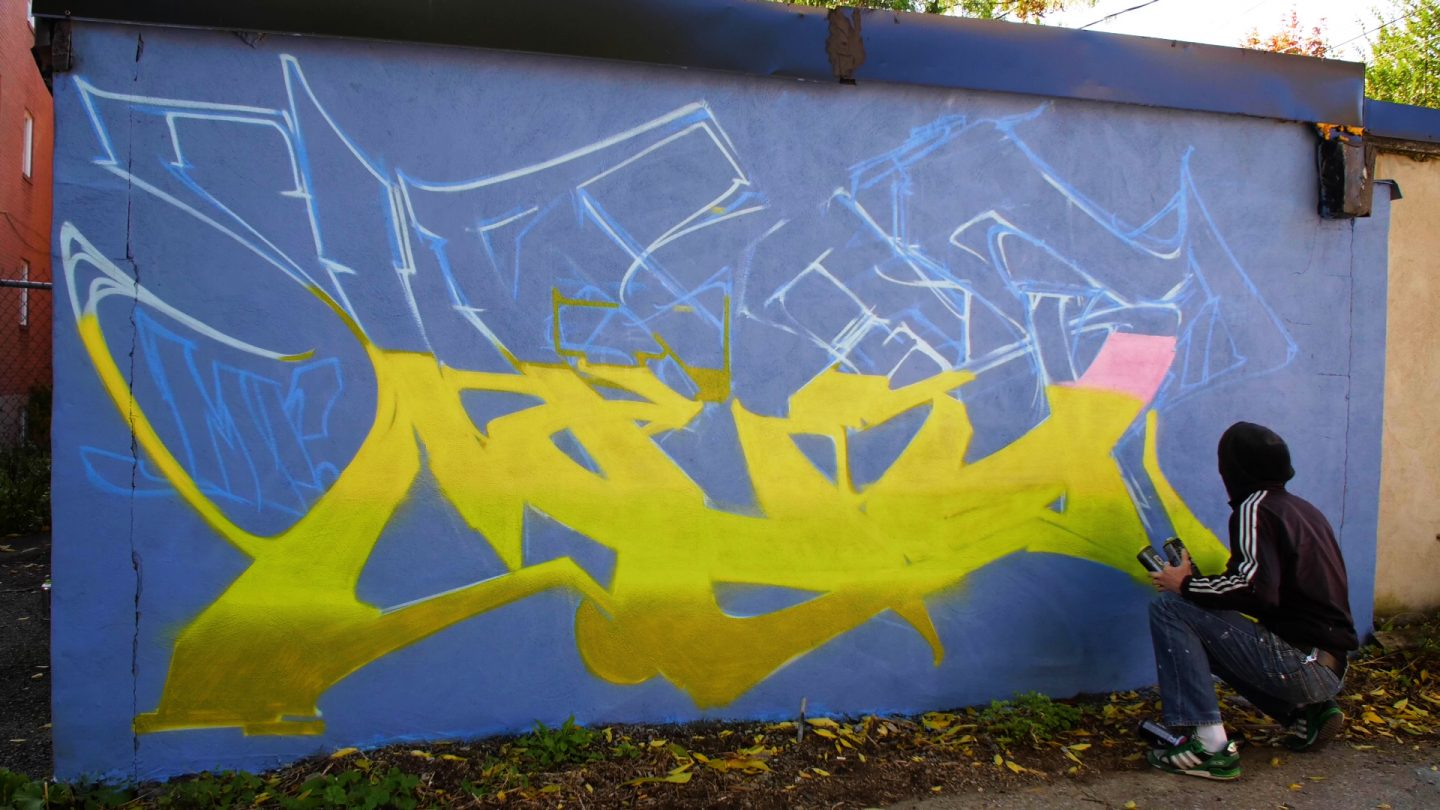 Graffiti Video: HEST