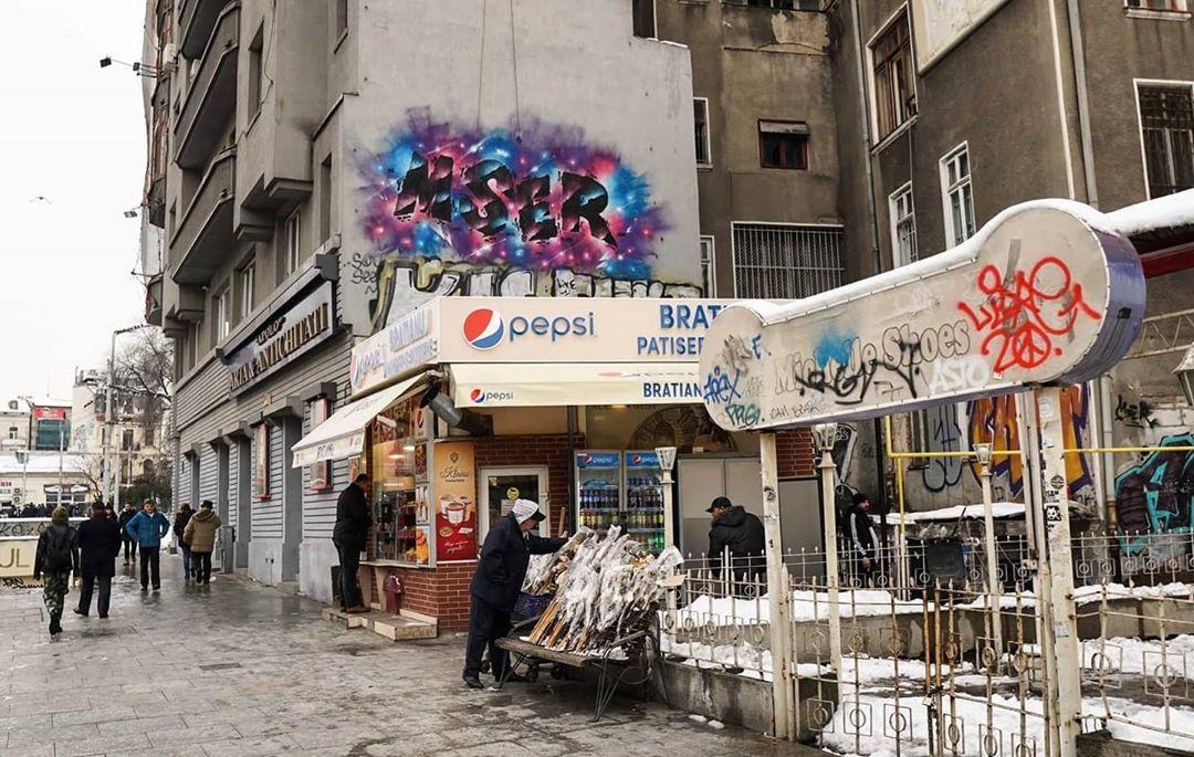 Graffiti Video: Buchawrestlers - MSER