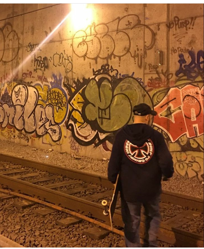 Graffiti Interview: Cycle IMOK for NYC Skateboarding