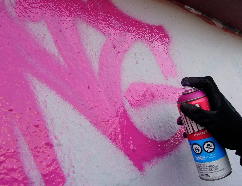 Graffiti Video: DANG 400ml Spray Paint Test