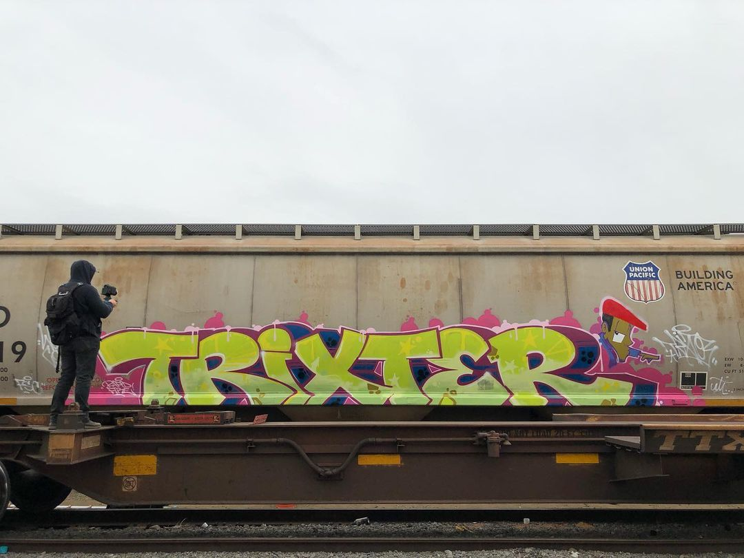 Graffiti Video: MR. Trixter