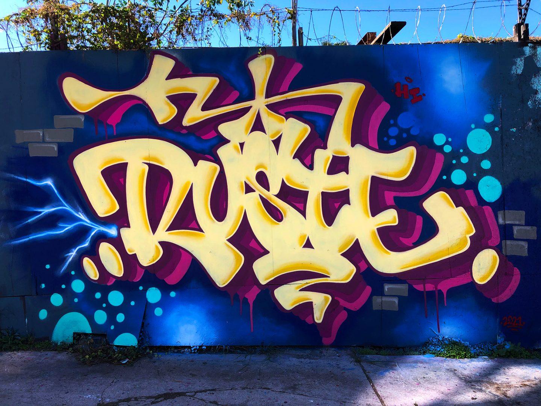 Graffiti Video: RUSTE X DANG Paint