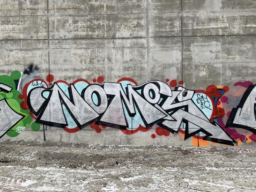 Graffiti Video: NOMIS GH