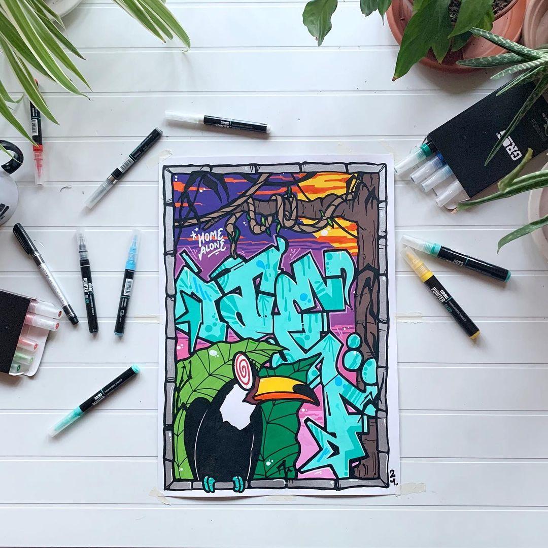 Graffiti Video: Grog - Otehf