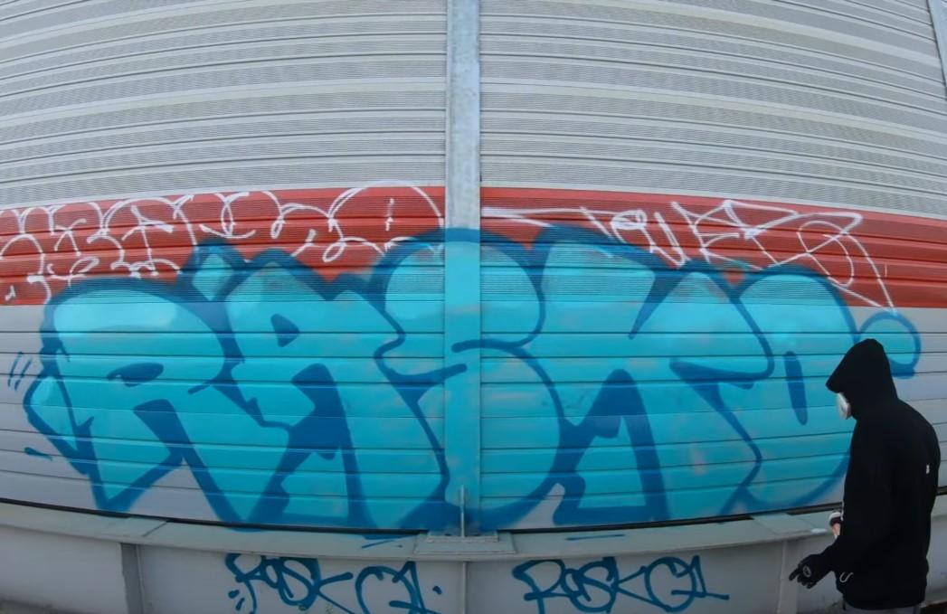 Graffiti Video: RASKO Trackside