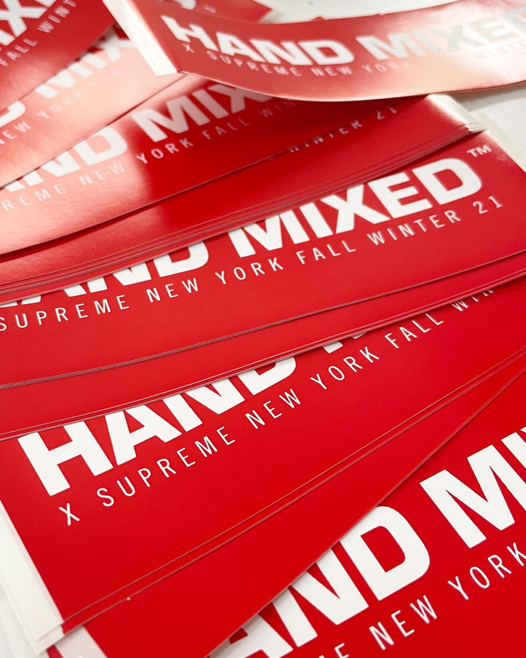 Handmixed X Supreme Paint Stick