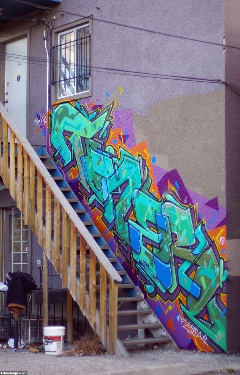 Graffiti wall calgary - Toner Calgary Walls