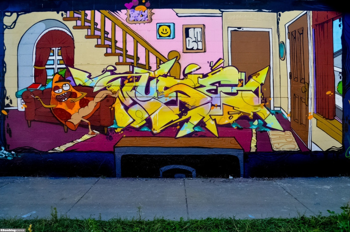 meeting of styles chicago bombing science meeting of styles 2014 chicago walls