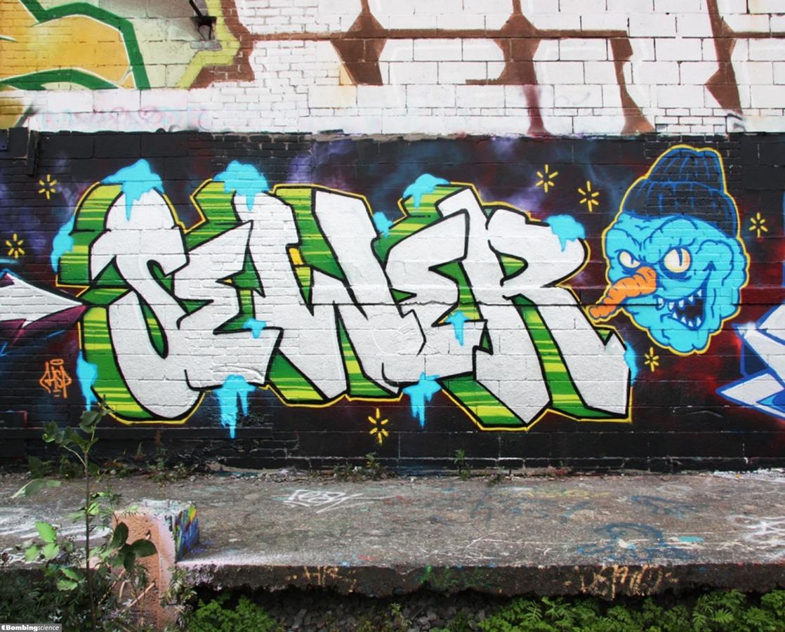 Sewer / Montreal / Walls