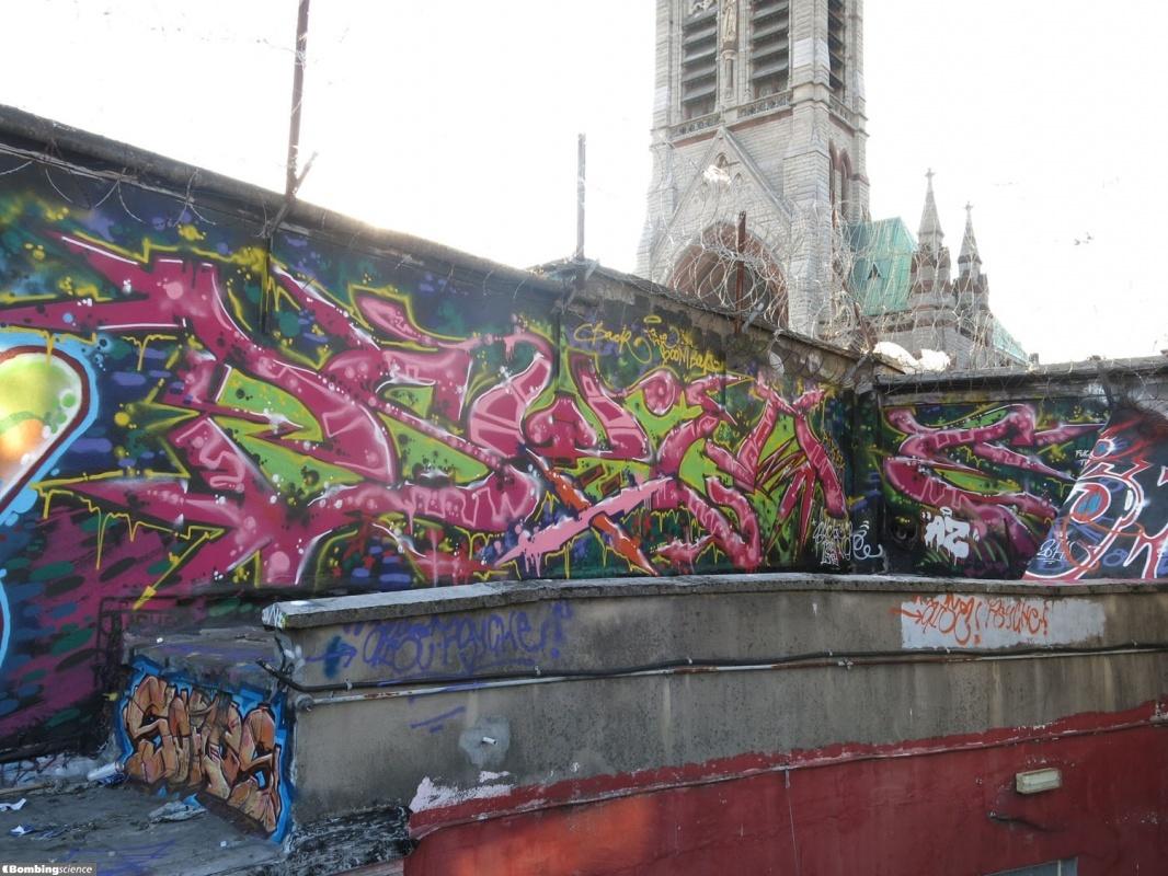 Graffiti wall dublin - Psyche Dublin Walls