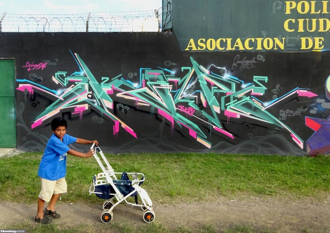 SKape289 / Guatemala City / Walls