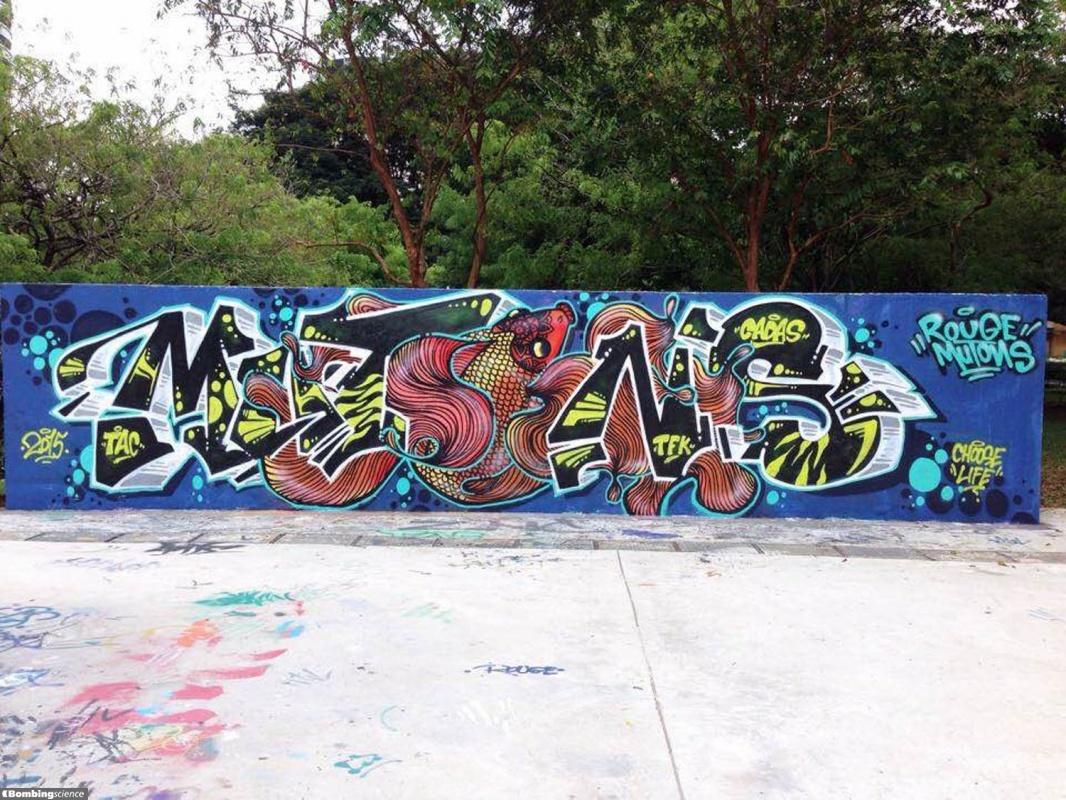 Mutons / Singapore / Walls