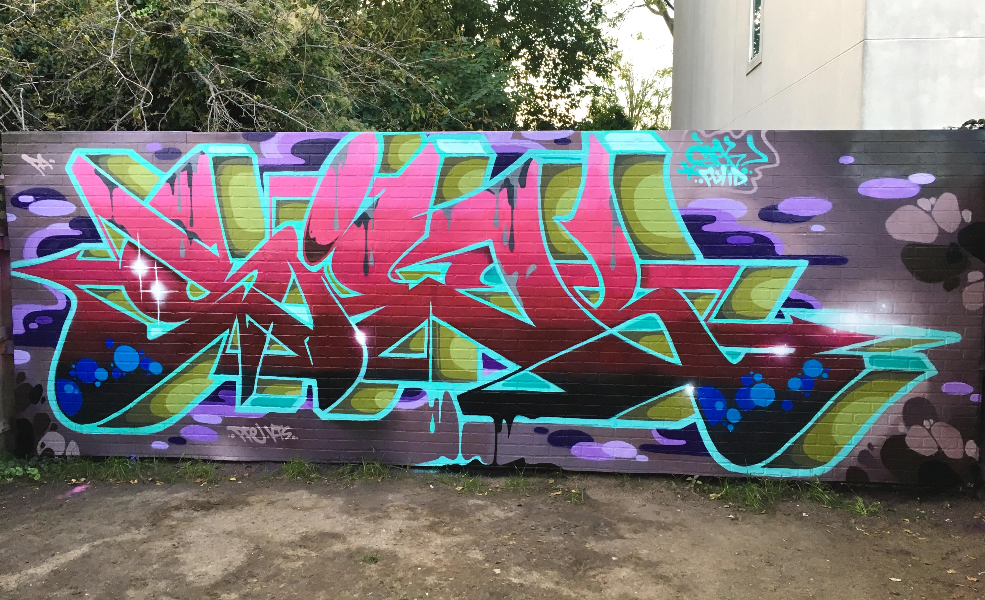Graffiti wall baltimore - Siek Baltimore Walls