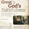 Storm Shelter, Session 6 (The Shelter of God's Protection): Great is God's Faithfulness