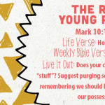 Week of July 17—The Rich Young Ruler—Social Media Plan
