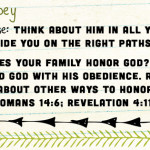 Week of February 26 – Do What God Says – Social Media Plan
