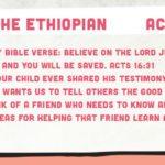 Week of June 4—Philip and the Ethiopian—Social Media Plan