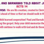 Week of July 16—Paul and Barnabas Told About Jesus—Social Media Plan