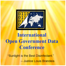 International Open Government Data Conference 2010