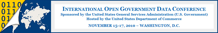 International Open Government Data Conference