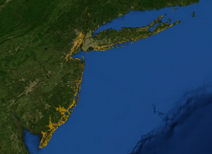 Sandy SLR Planning Tool - New Jersey and New York State