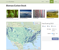 LandCarbon Biomass Carbon Stock