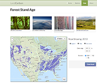 LandCarbon Forest Stand Age