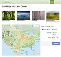 LandCarbon Land-Use/Land-Cover Mosaics 1992-2050