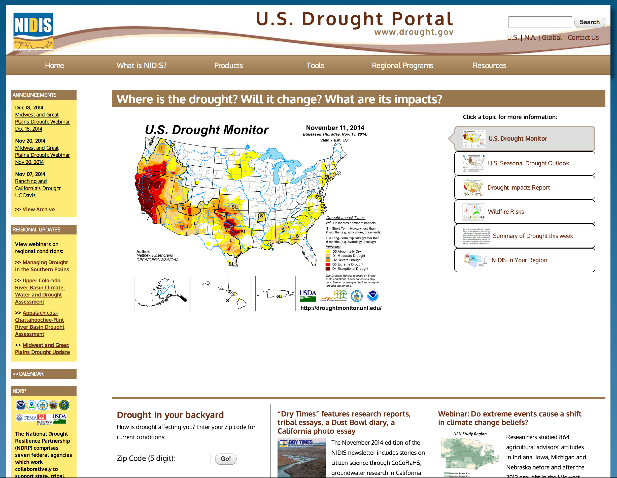tools data gov application water resource managers and community and urban planners can use the information to prepare for onsets of drought and to create long term