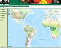 USGS Ecosystems Map