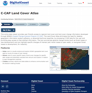 Coastal Change Analysis Program (C-CAP) Land Cover Atlas