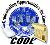 U.S. Navy Credentialing Opportunities On-Line (COOL)