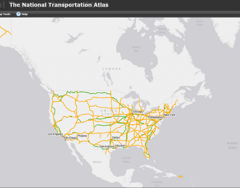 National Transportation Atlas
