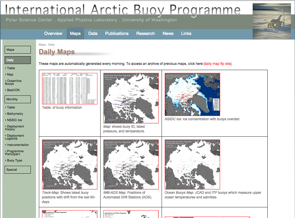 US/International Arctic Buoy Program