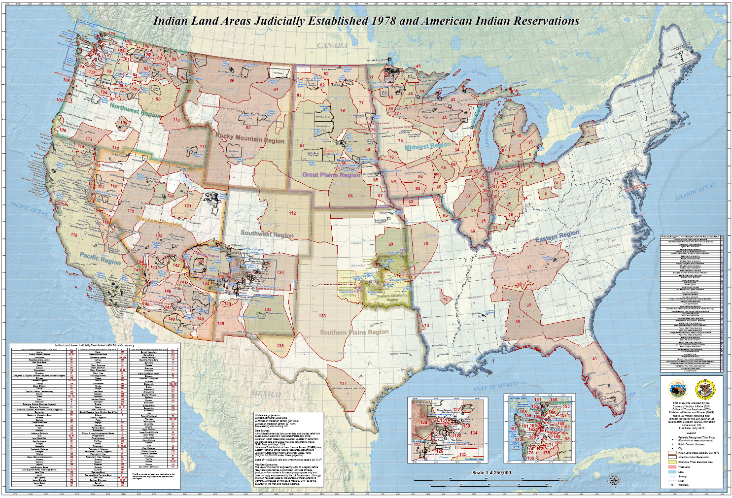 Tribal Nations Maps Datagov - Map of native american tribes in arizona