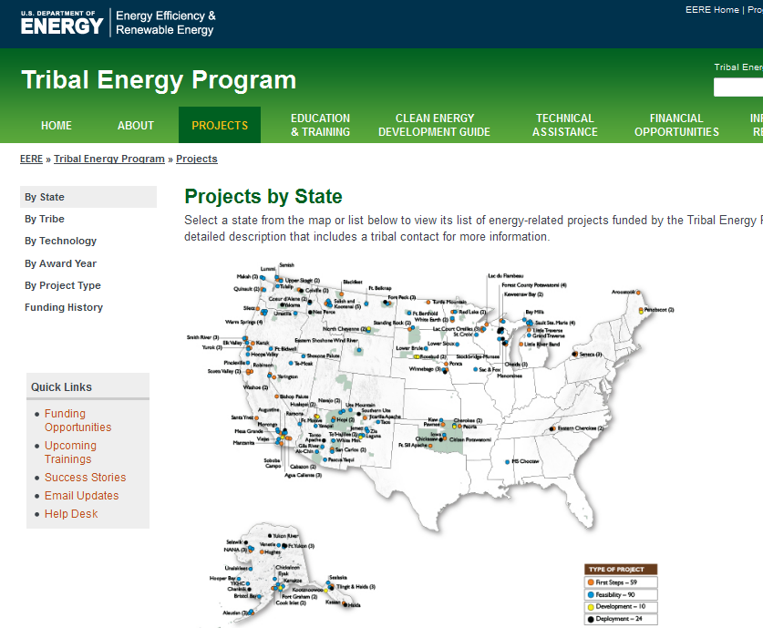 DOE Tribal Energy Programs