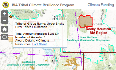 BIA Tribal Climate Resilience Program