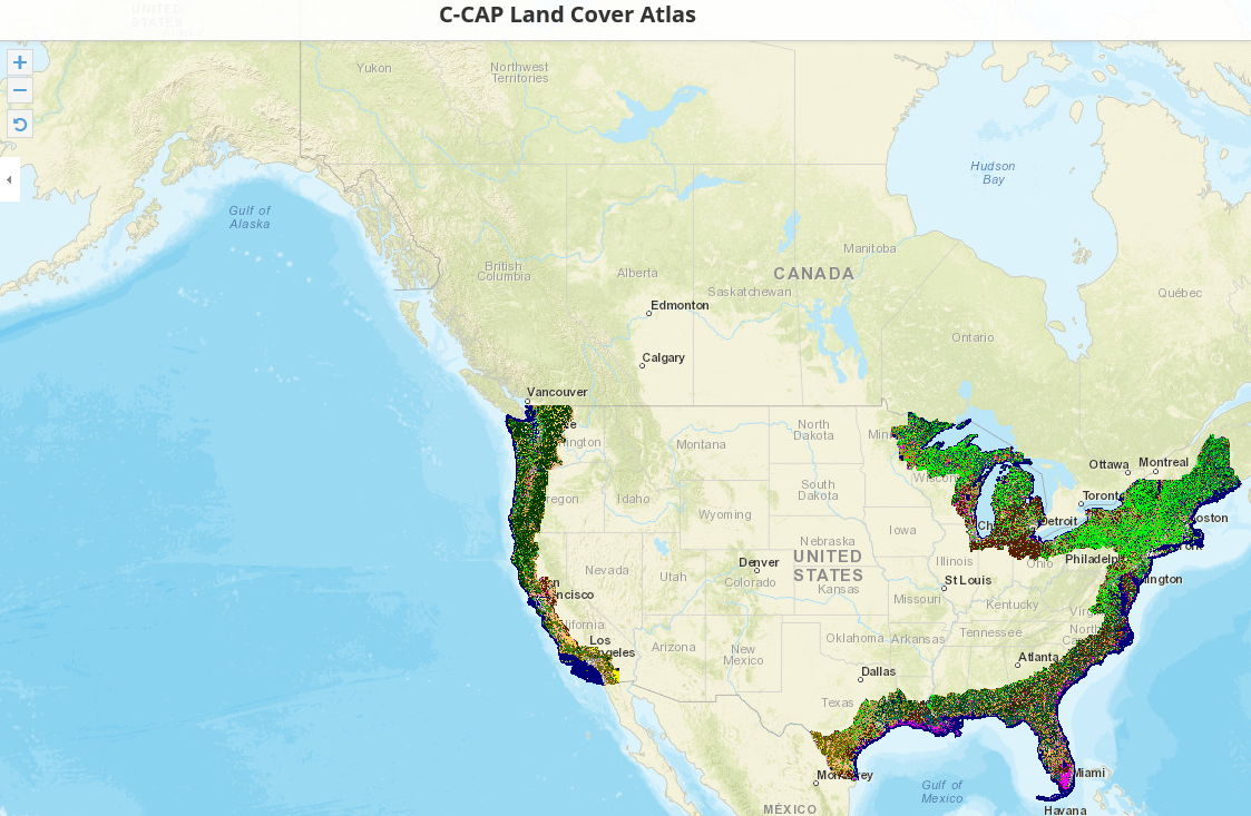 NOAA's Coastal Change Analyis Program (C-CAP) Regional Land Cover Data