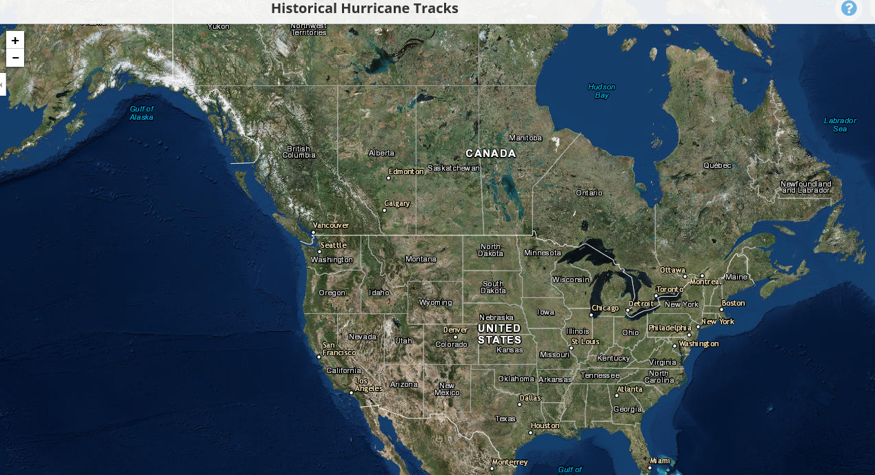 Historical Hurricane Tracks Tool