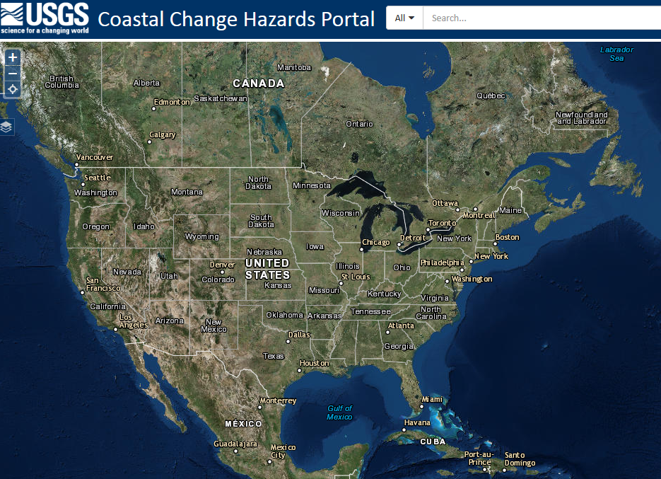 Coastal Change Hazards Portal