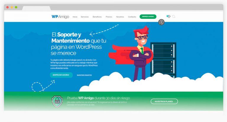 WordPress, Soporte y Mantenimiento