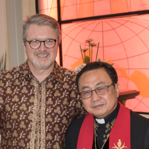 Welcoming Rev. Larosa to our Indonesian Ministry