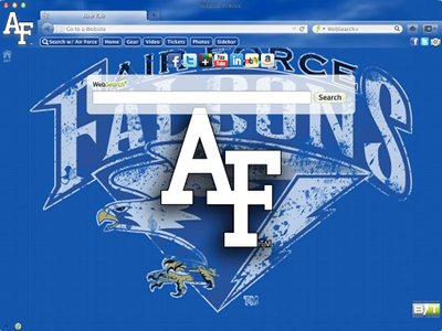 Air Force Academy welcome image
