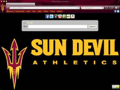 Arizona State University welcome image